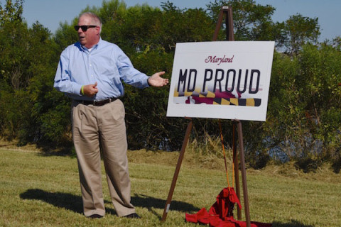 Maryland unveils new license plates