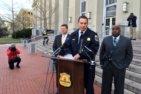 Mayor announces interim DC police chief