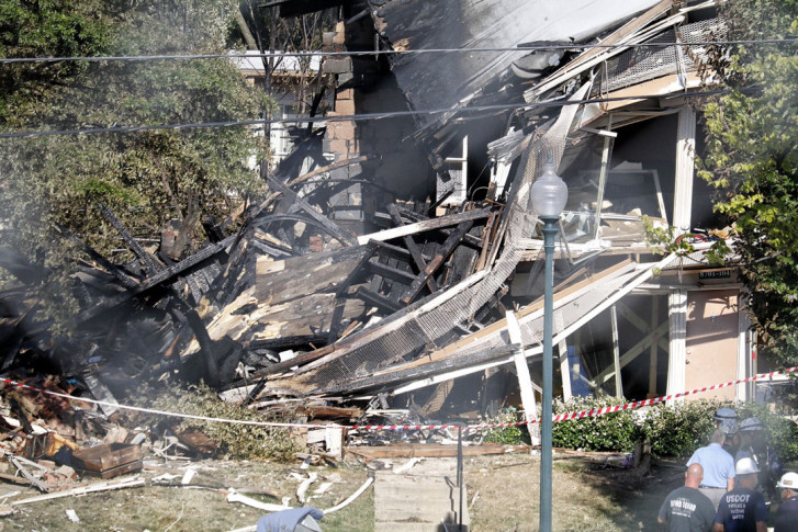 Vigil set for silver spring apt blast victims where pain remains 2 the view from a nearby parking lot on thursday aug 11 2016 shows the damage from an explosion and fire at the flower branch apartments in mightylinksfo