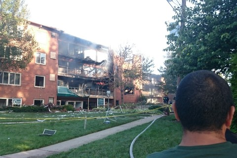 Md. apartment complex residents recall horrific explosion, fire