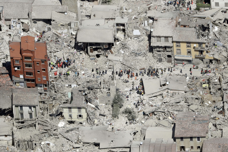 Two quake hits Italy; buildings collapse in Amatrice