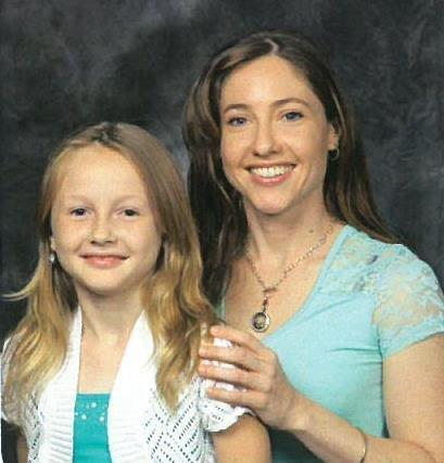 This undated photo provided by the Universal Church Directories shows Jessica Watsula and her daughter Sarah. A catastrophic storm Saturday, July 30, 2016, that ripped through Ellicott City, Md., claimed the lives Jessica Watsula and Joseph Blevins, whose cars were swept into the Patapsco River's raging waters. (Universal Church Directories via AP)
