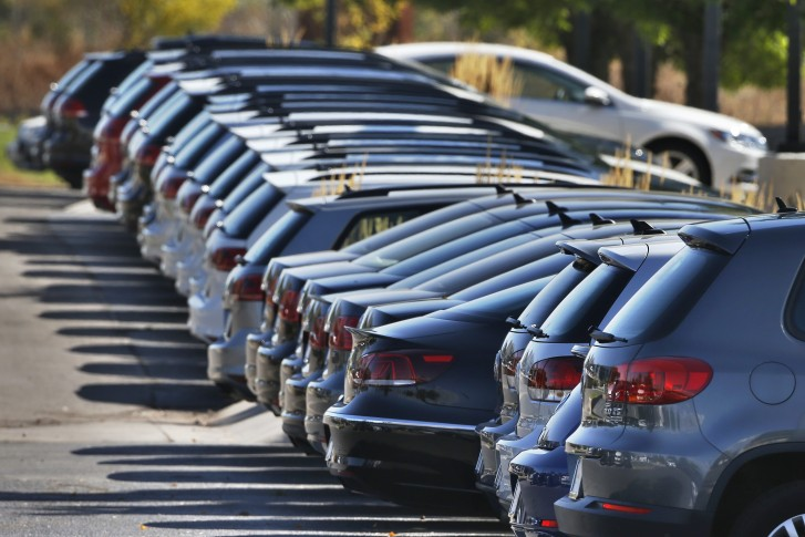 24 2017 File Photo Volkswagen Cars For Are On Display The Lot Of A Vw Dealership In Boulder Colo Ap