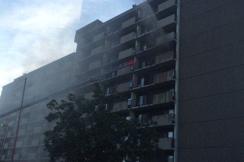 1 seriously injured in NE DC fire