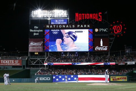 Ledecky to throw first pitch at Nats-Orioles game