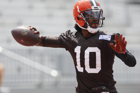 RG3 to be starting QB for Cleveland Browns