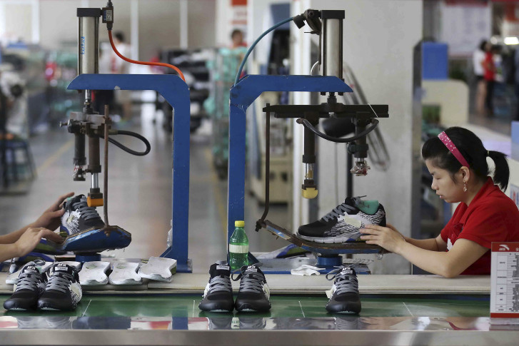 Factories grow fastest in four months