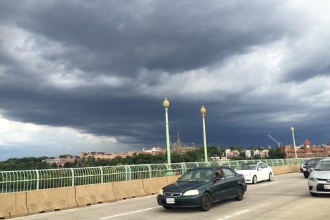 Photos: Storm brews, rumbles through DC region