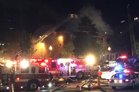 911 calls capture moments surrounding Md. apartment fire