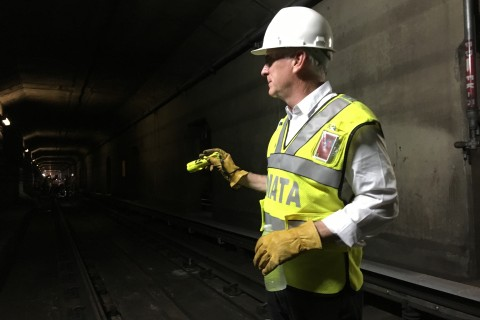 Fate of crumbling DC subway rests with 'nuts-and-bolts guy'