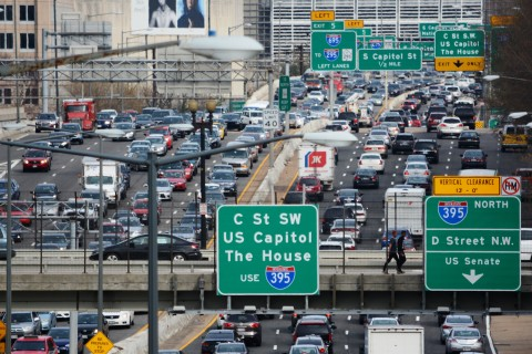 Do you know which DC freeway you're driving on?