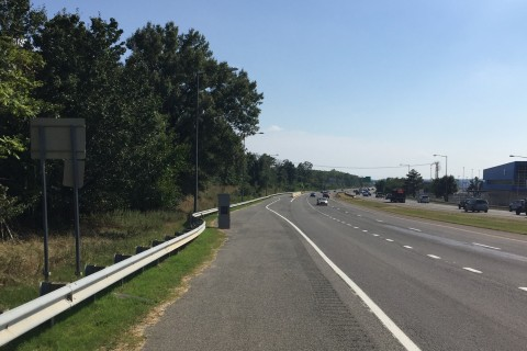 DC speed camera on I-295 moved after safety concerns
