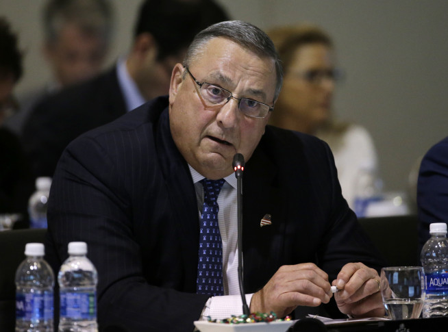 Maine governor says he plans to seek 'spiritual guidance'