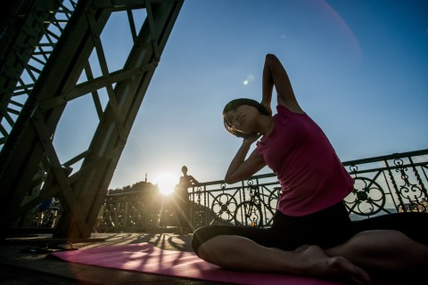 How to find a good yoga class in a new city
