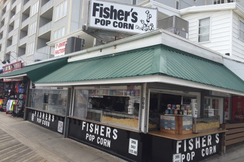 Beyond the Bay Bridge: Fisher's Pop Corn is a family affair