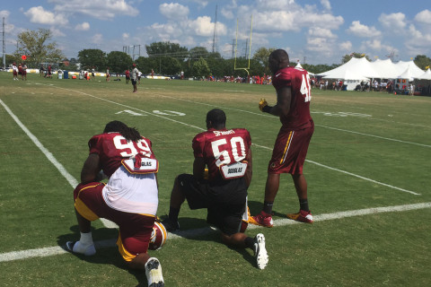 Redskins president confident before opening game