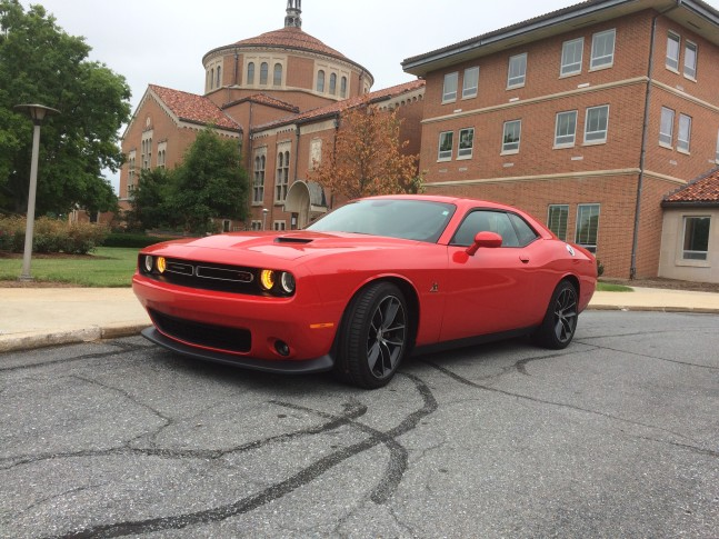 The Dodge Challenger R T Scat Pack Is A Muscle Car With Comfort Wtop