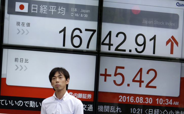 Tokyo, Wall St. shares boosted by Fed rate hike talk