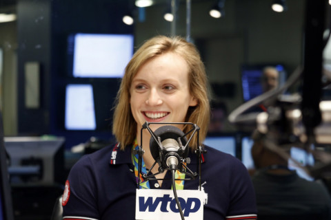 Outside the swim lanes: Q&A with Olympian Katie Ledecky