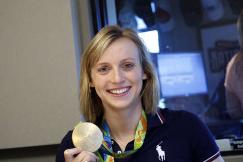 Olympian Katie Ledecky prepares for college, 'Tokyo, hopefully'