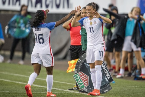 Spirit hope to ride home field edge to NWSL title game