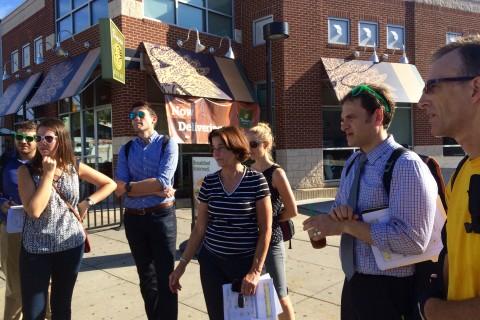 DC leaders, transit officials visit hazardous Ward 3 intersections