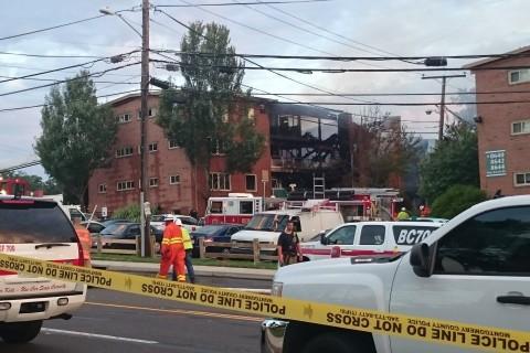Residents still missing after Md. apt. explosion, fire kills 2