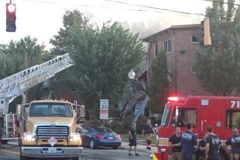 Photos: Apartment explosion in Silver Spring