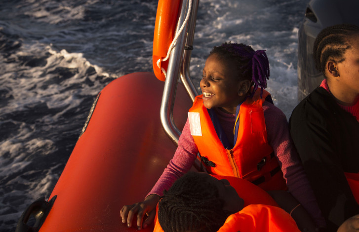 Italy rescues 6500 migrants from Mediterranean
