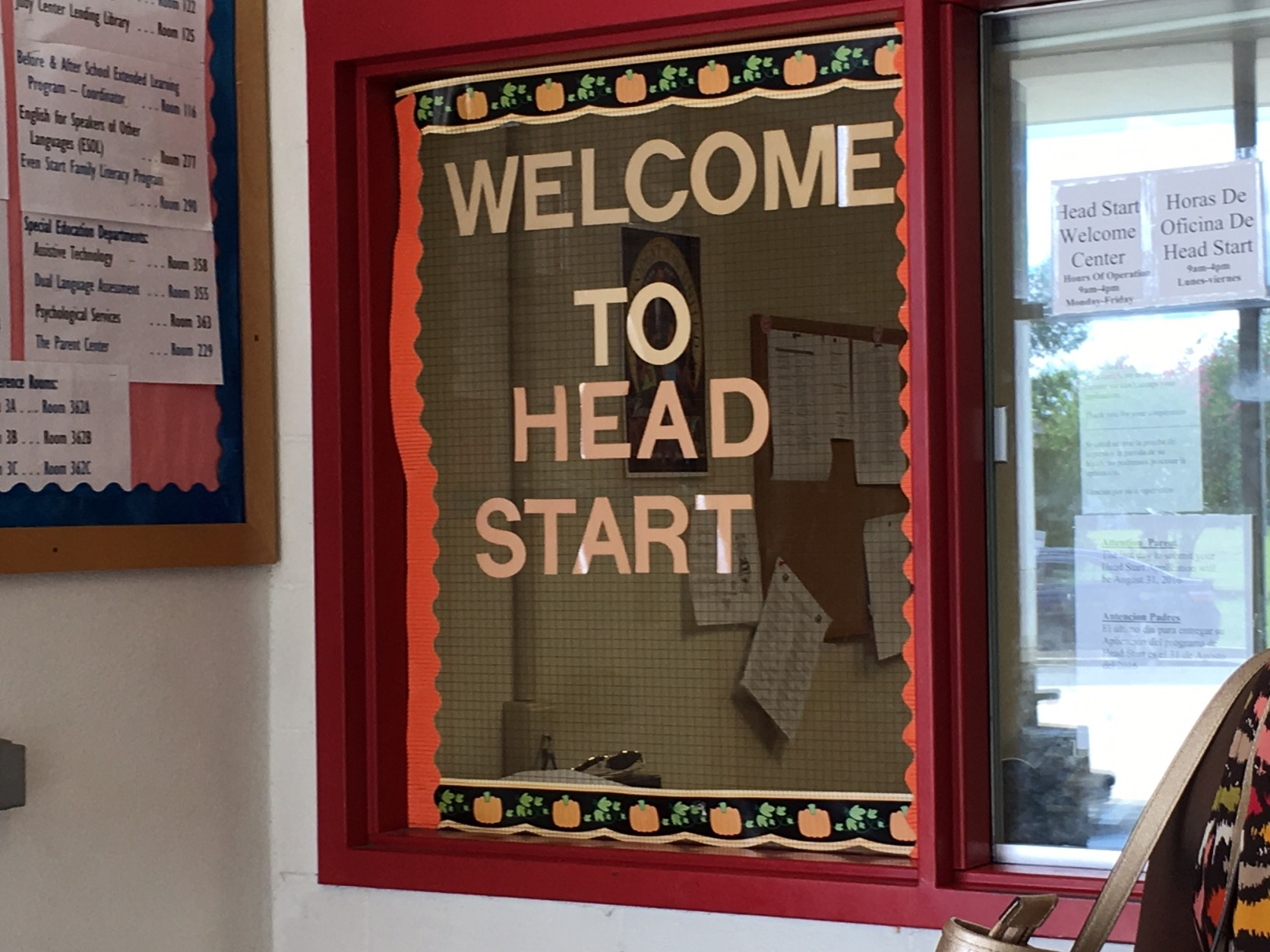On Wednesday, Aug. 17, 2016, parents were still walking in to the Judy Hoyer Family Learning Center in Adelphi, Md., shown here, in order to sign up their children for Head Start, despite the announcement that federal officials had terminated a $6.3 million grant for the program. (WTOP/Kate Ryan)