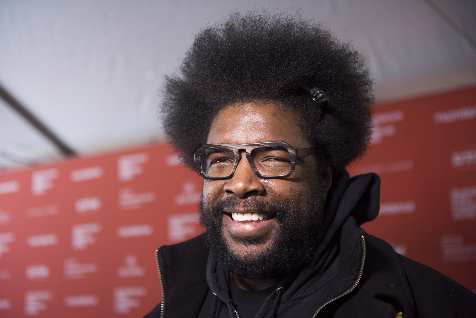 "Musician Questlove seen during the premiere of ""Michael Jackson's Journey From Motown to Off the Wall"" during the 2016 Sundance Film Festival on Sunday, Jan. 24, 2016, in Park City, Utah. (Photo by Arthur Mola/Invision/AP)"