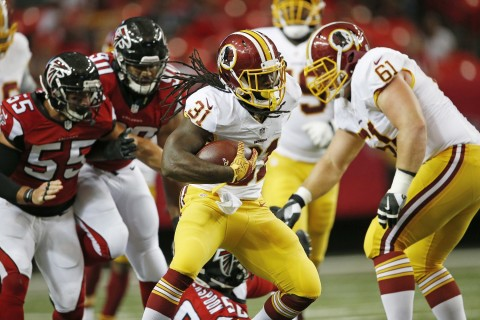 Redskins look for improved ground game against Jets
