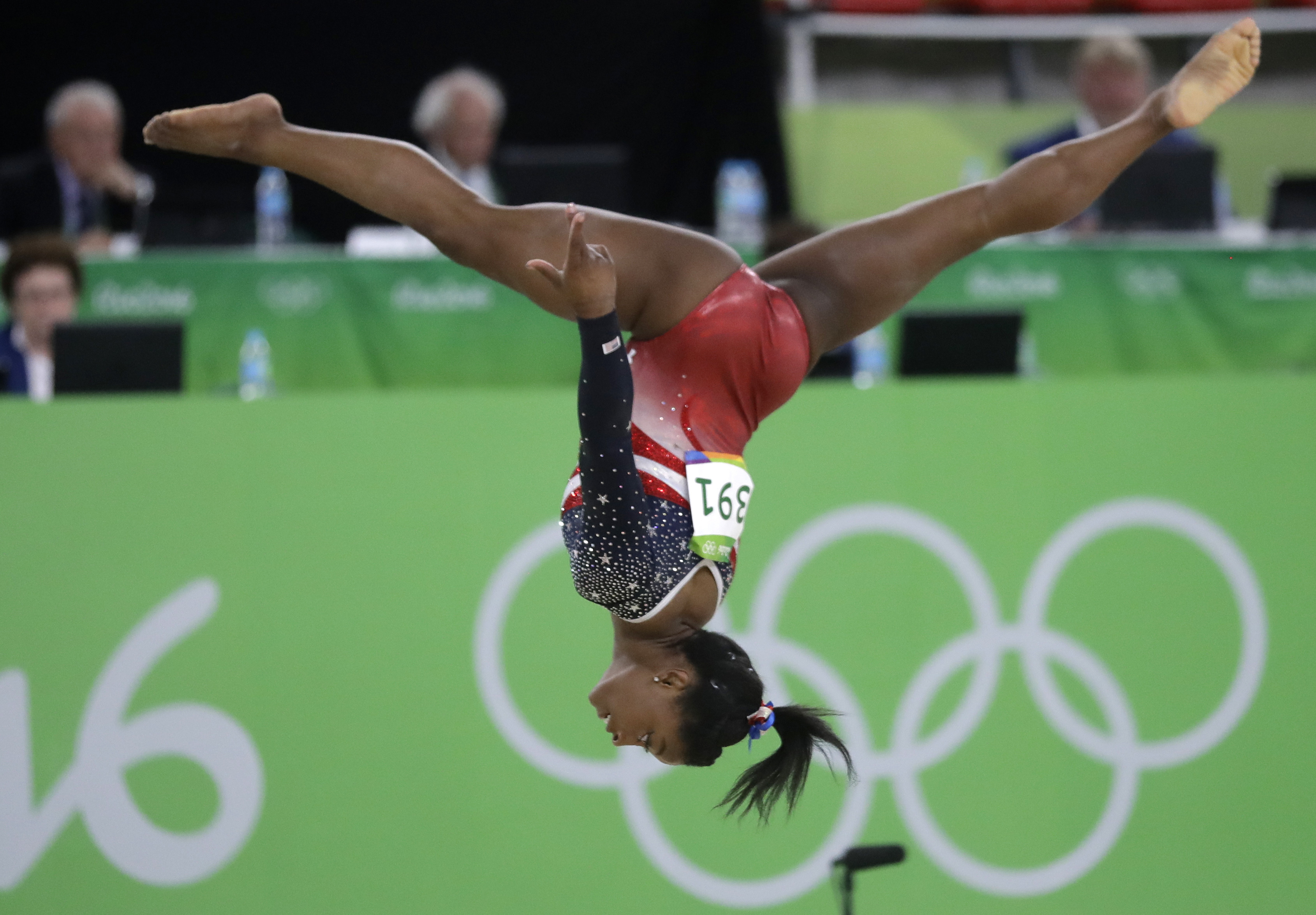 Column Biles and the Final Five have more show left