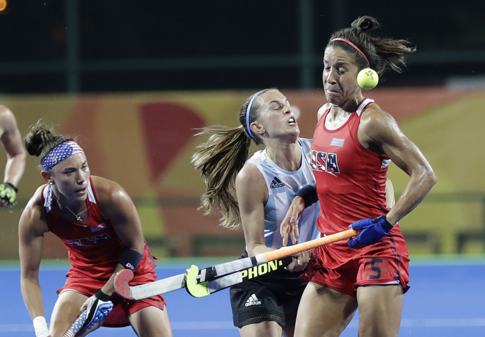 US women's field hockey team faces No. 3 Australia next