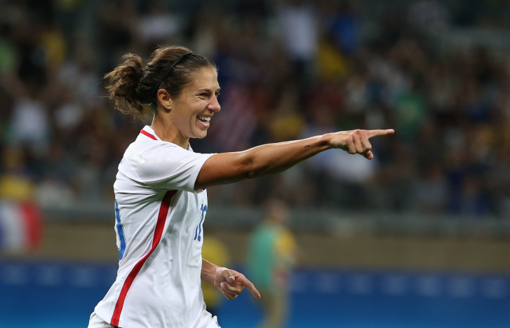 Carli Lloyd just keeps on being Carli Lloyd at the Olympics