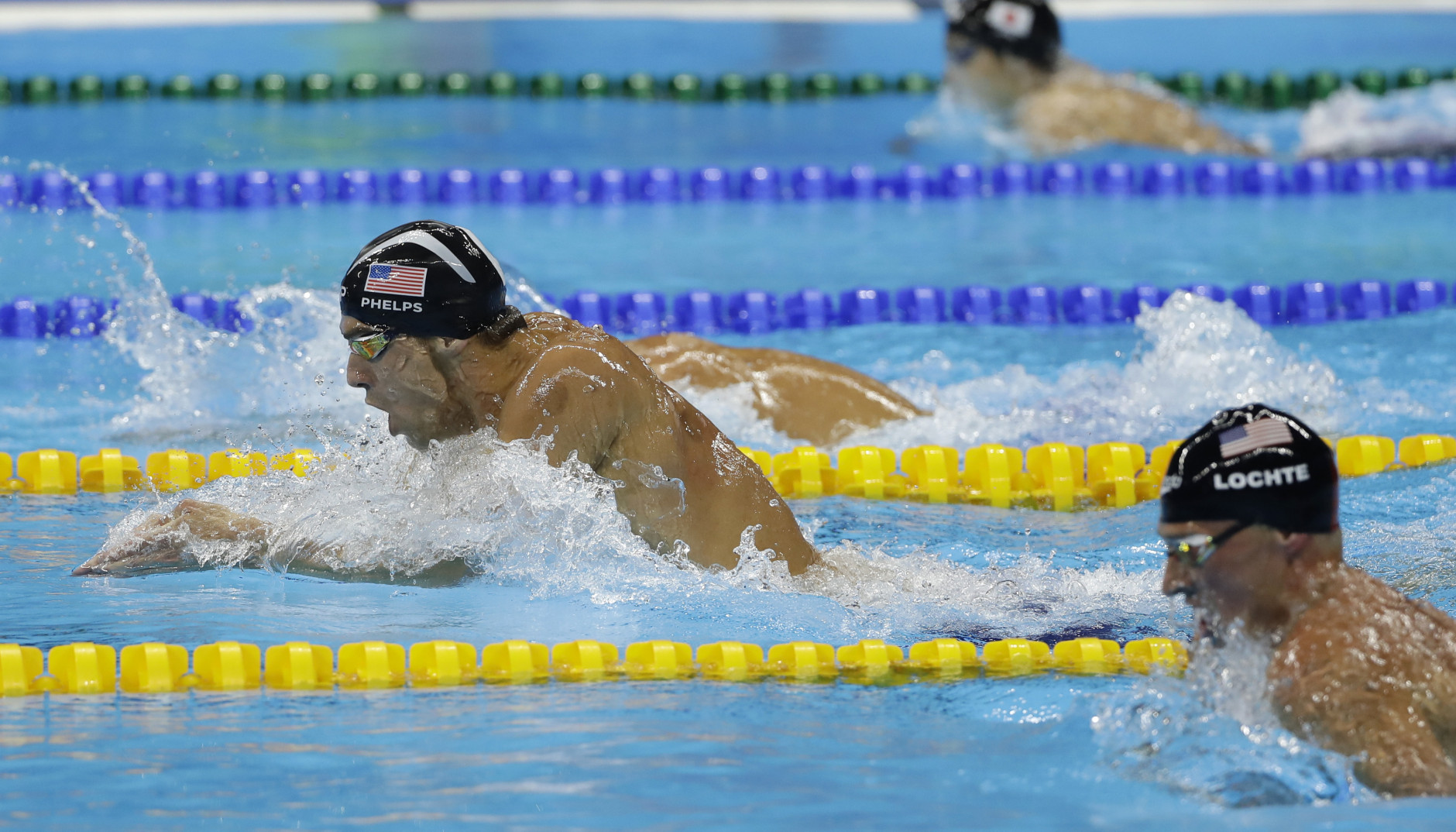 United States' Michael Phelps competes in the final of the men's 200-meter individual medley during the swimming competitions at the 2016 Summer Olympics, Thursday, Aug. 11, 2016, in Rio de Janeiro, Brazil. (AP Photo/Matt Slocum)