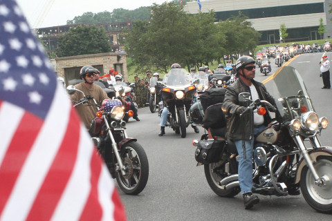 Motorcycles ride through Md., Va. to remember 9/11 responders