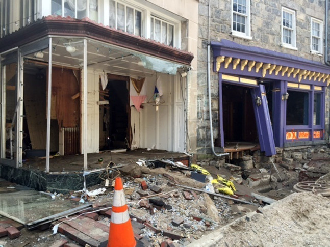 Historic Maryland Town Faces Long Recovery After Flooding