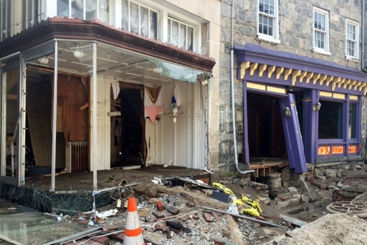 Damage Along Main Street In Historic Ellicott City Md Is Viewed Monday Aug 1 2016 After The Was Ravaged By Floodwaters Saay Night