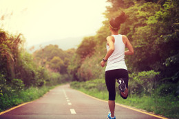 With darker mornings and shorter days on the horizon, now is an important time to reevaluate your running safety protocol.  (Thinkstock)