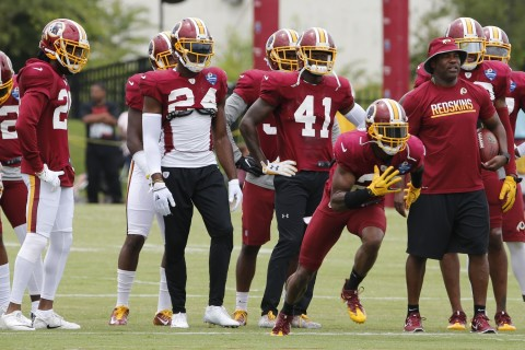 Redskins backups get most of Friday's work before off day