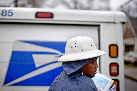 Postal Service delivers more packages, fewer letters