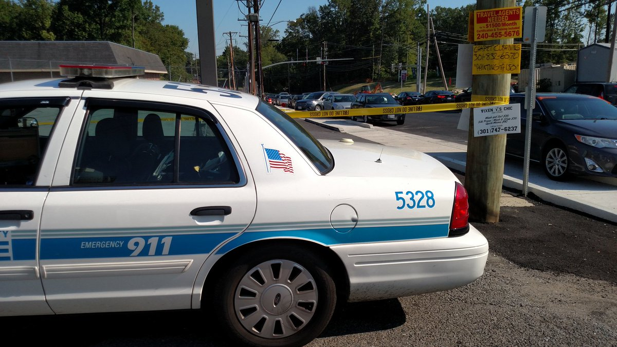 A man is dead after an attempted robbery in Clinton, Md. (Courtesy Prince George's County Police)
