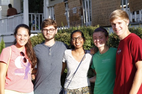 Teens volunteer to dig out sewage in Ellicott City