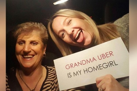 Grandmother becomes Uber driver to help young women get home safely