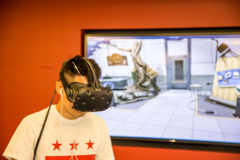 DC gets East Coast's first virtual reality arcade