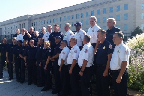 Rescuers who responded to Pentagon on 9/11 return 15 years later