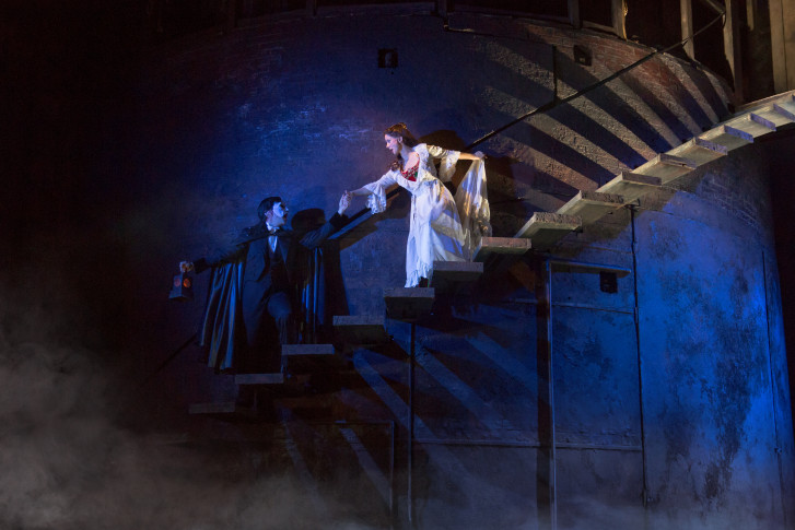 Chris Mann Stars As The Phantom And Katie Travis Christine Daaé In National Tour Of Opera Matthew Murphy