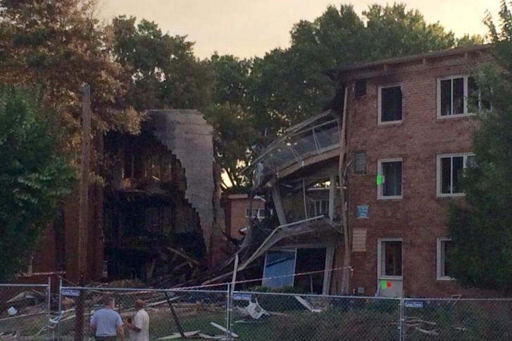 Police Four Bodies Have Been Found In Debris Of Silver Spring Blast