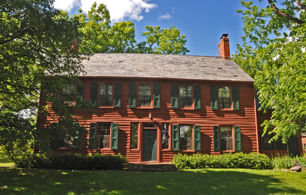 The historic Benjamin Howell Homestead in Parsippany-Troy Hills, New Jersey, which ranked No.5 on Money magazine's best places to live in the U.S.  (By Jerrye & Roy Klotz, MD/Wikimedia Commons)